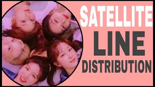 LABOUM - SATELLITE (LINE DISTRIBUTION)