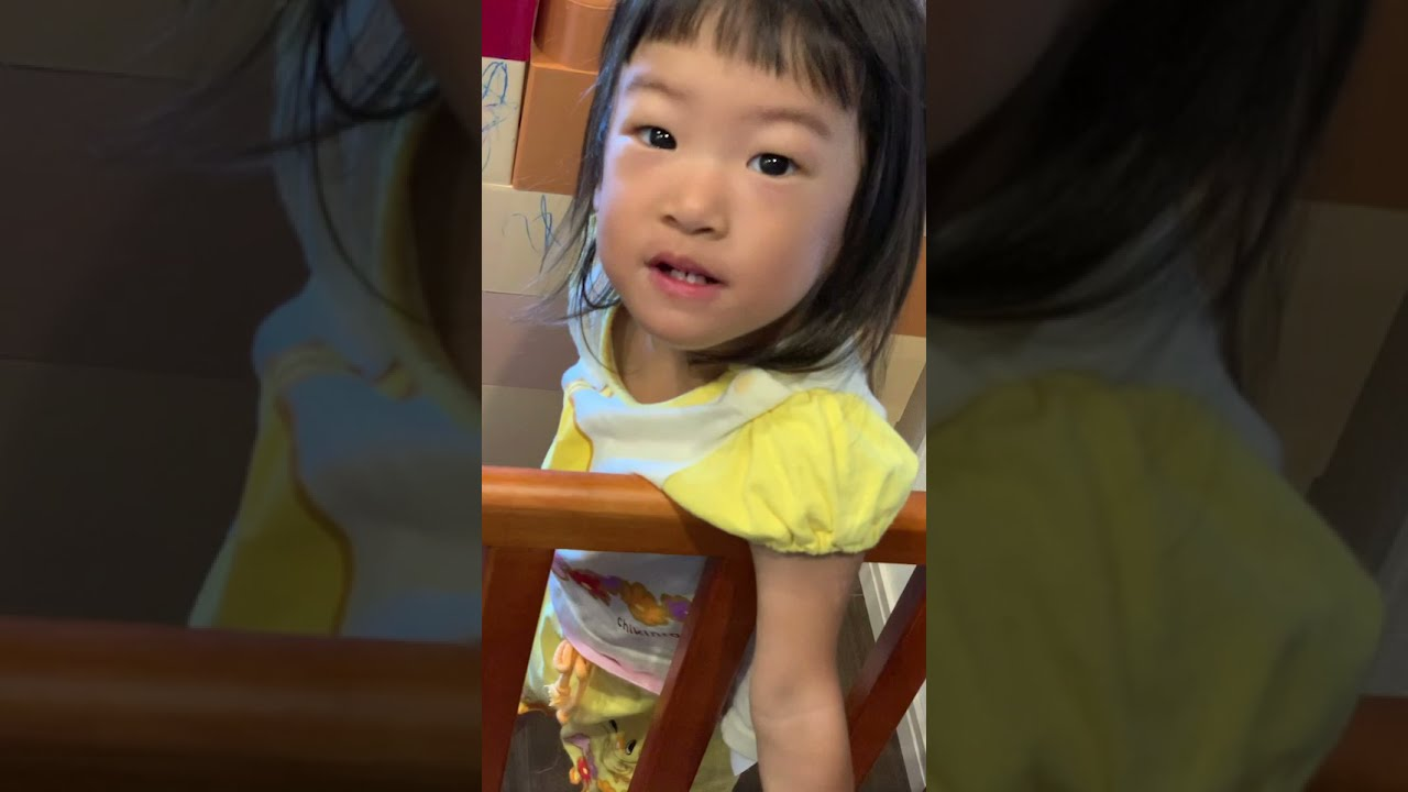 おかあさんといっしょ からだダンダン 最後は必ず決めてくる2歳児 #Shorts