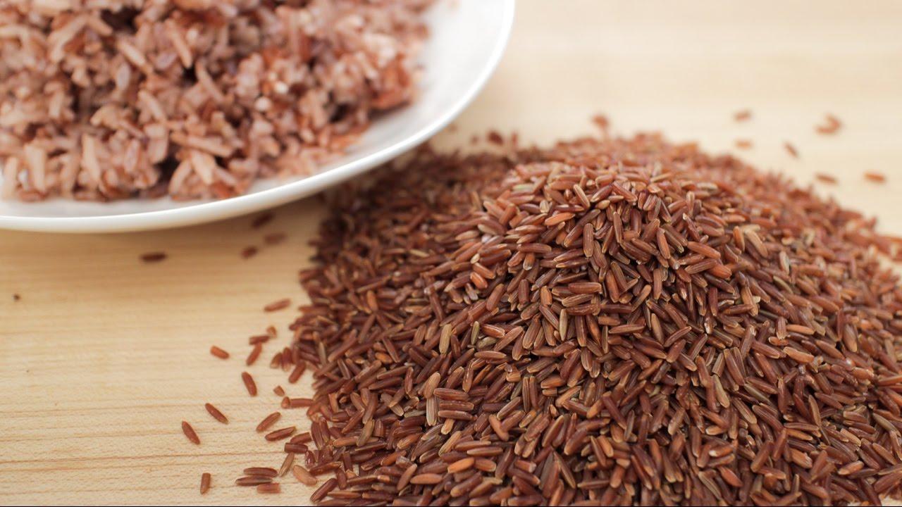 Beras merah kaya protein