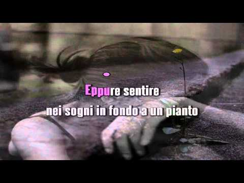 ELISA - EPPURE SENTIRE (UN SENSO DI TE) karaoke strumentale