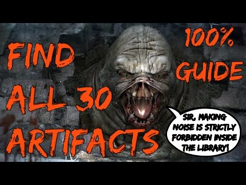 Metro Last Light PC Guide How to Find All 30 Artifacts in Kshatriya Mission DLC Faction Pack HD720p