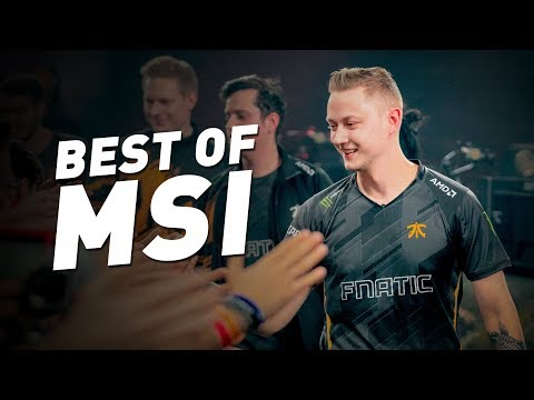 Best of Fnatic | MSI 2018