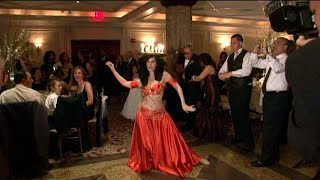 Egyptian/Greek Wedding with Star Belly Dancer Layla Taj !