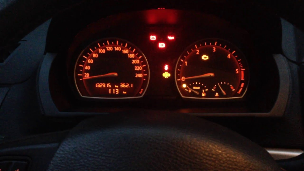 Bmw X3 E83 Instrument Cluster Test Youtube