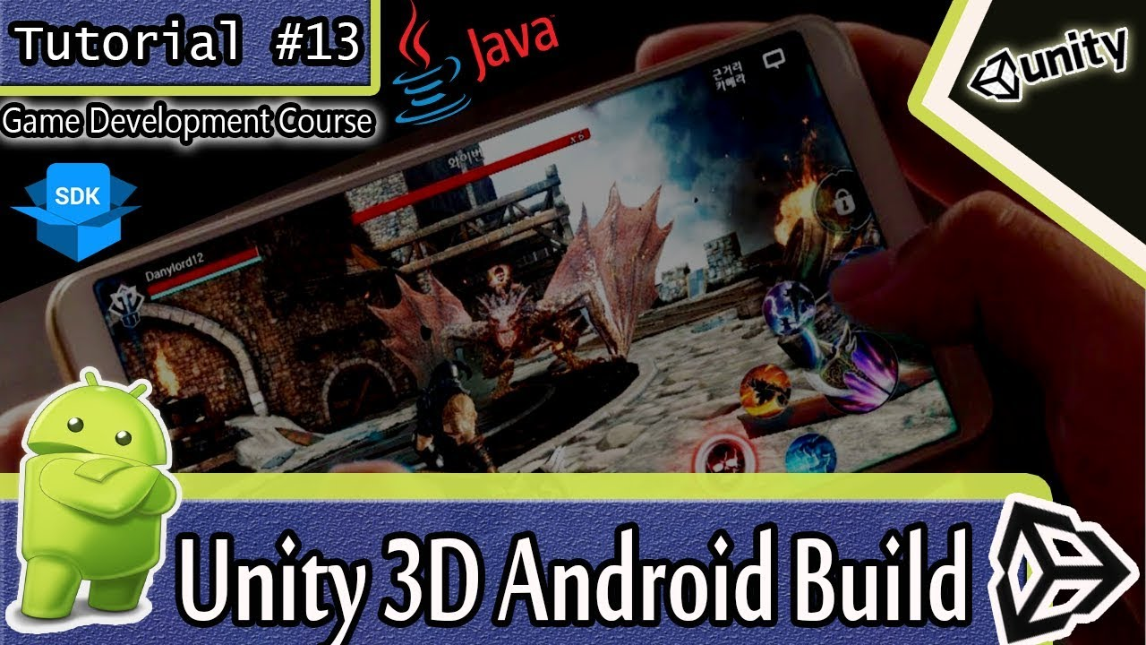 Complete guide-How to build unity Project to android apk file-Setting  android SDK & JDK 📱