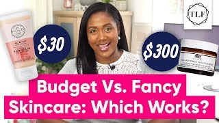 My Honest Review Of A $300 vs $30 Skincare Routine | The Lifestyle Fix