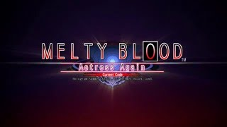 "The much-awaited ""MELTY BLOOD Actress Again Current Code"" is finall..."