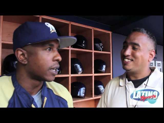 Gemini Keez, IN THE PEN, with the Milwaukee Brewers, Yankee Stadium, Bronx, NY. Travel Video