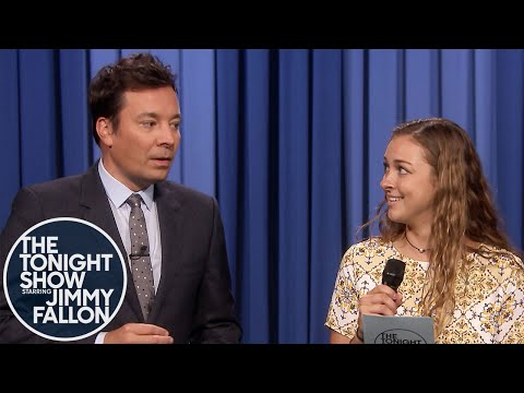 See Jimmy Fallon Have Audience Member Read Trump's Wouldn't Statement!
