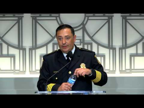 HPD Police Chief Art Acevedo Conducts First Press Conference