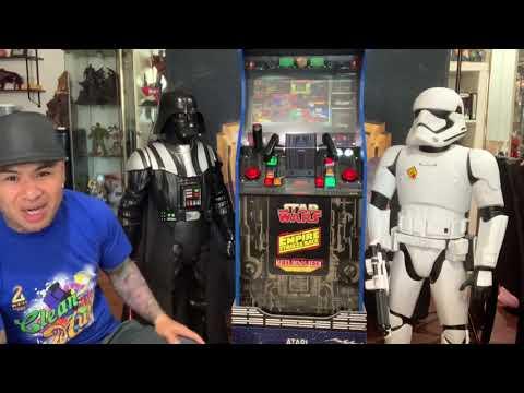 Arcade1up Star Wars mod from 2Dai4