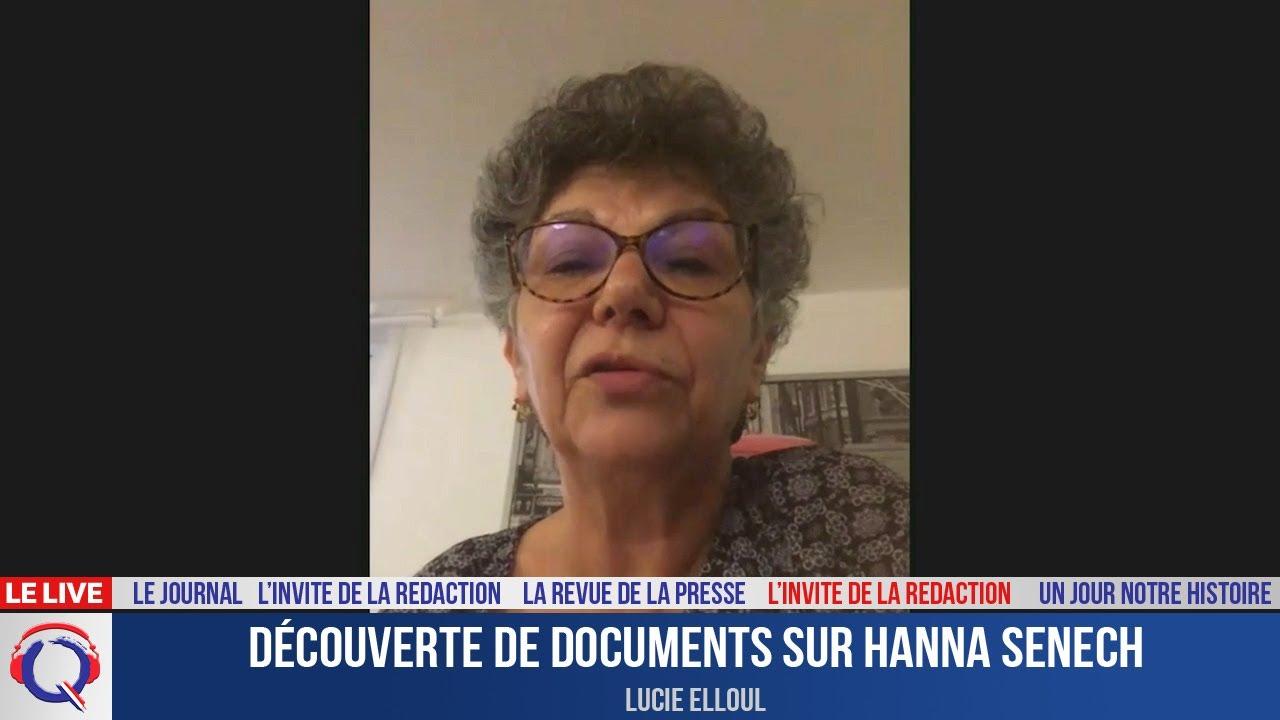 Découverte de documents sur Hanna Senech - L'invité du 14 juillet 2021