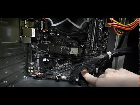 AMD Ryzen 3 2200G офисная сборка !!! Ставим Windows 7!