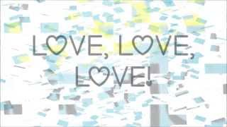 Glee - All You Need Is Love (FULL Lyrics) HD