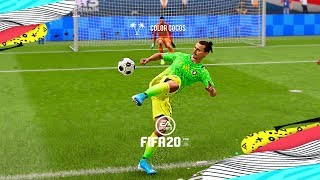 FIFA 20  SKILLS AND GOALS COMPILATION  Leftovers 1
