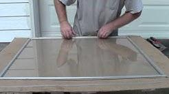 Replacing Storm Window Glass