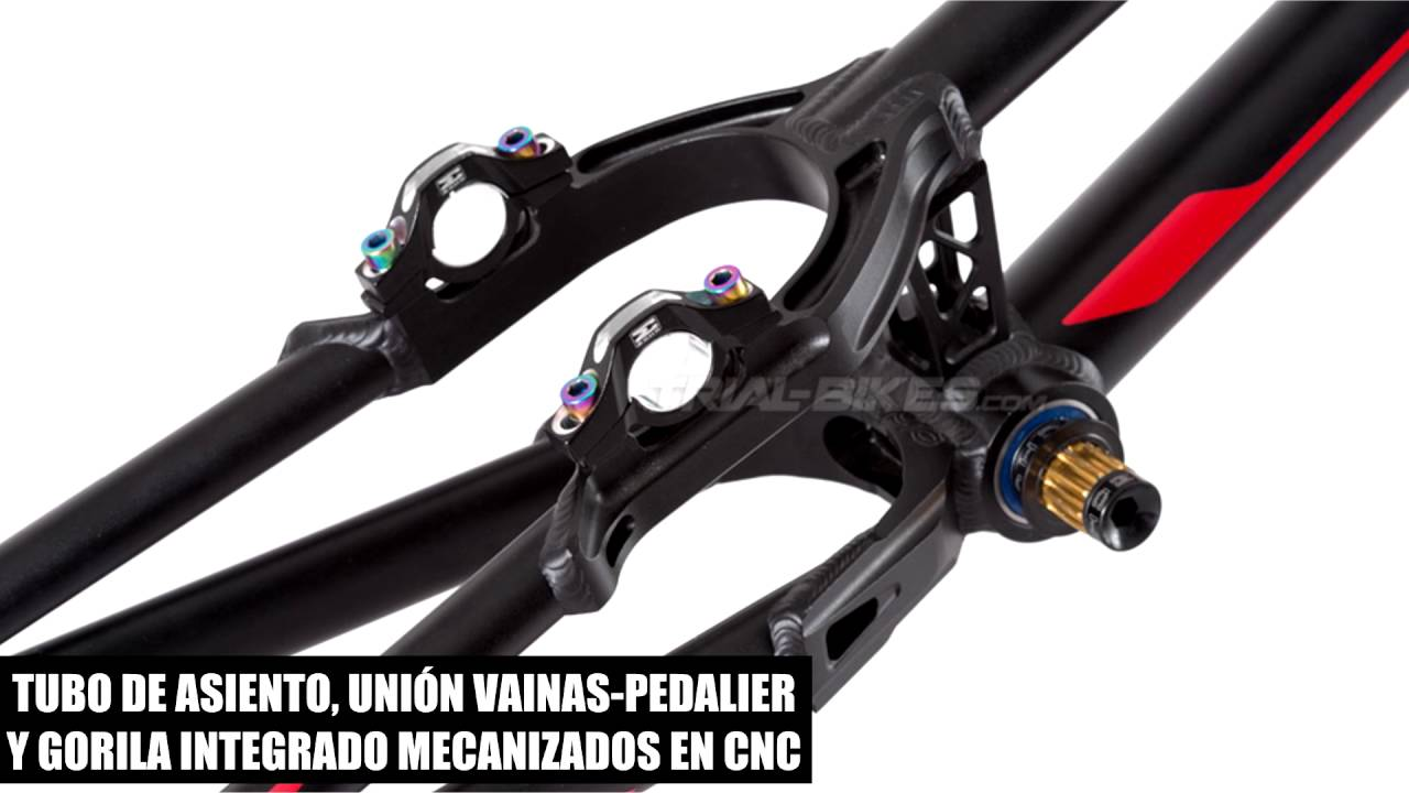 Trial-Bikes.com Products - Cuadro Echo Ti Tapered 26\