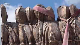 видео Монумент «Стена скорби» в Москве