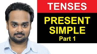 Present Simple Tense – Part 1 – Where To Use Simple Present – Basic English Grammar