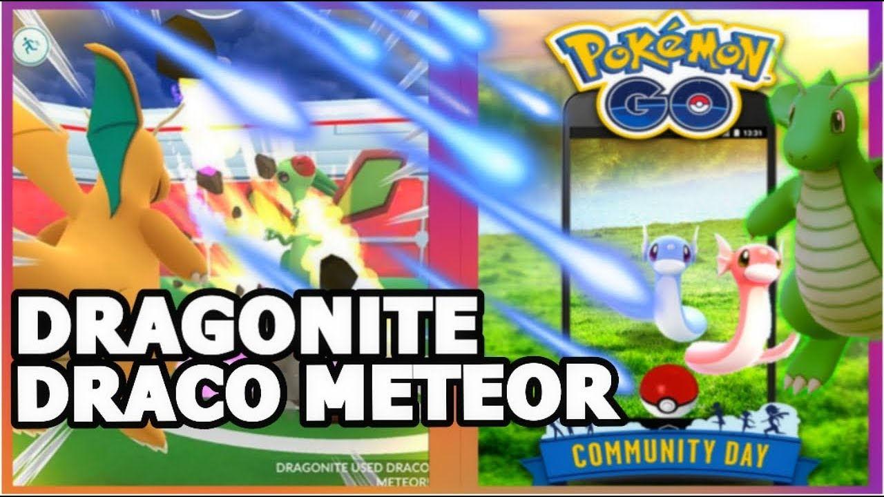 how to get draco meteor pokemon go
