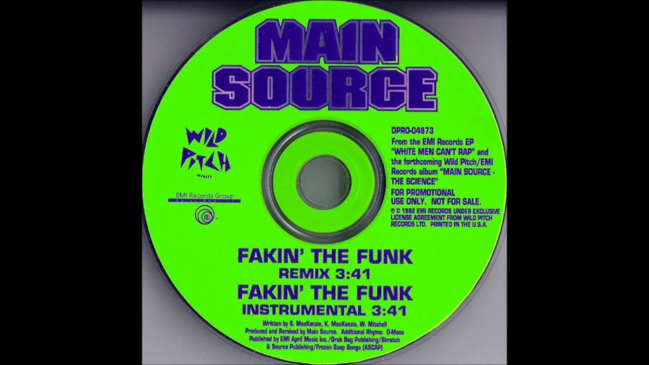 Main Source - Fakin\' The Funk (Instrumental [1992]) - YouTube