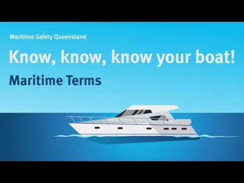 Maritime Safety Queensland - Maritime Terms