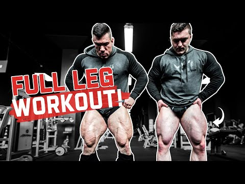 Entraînement sur toute la jambe avec IFBB Elite Pro Lorenzo Leeuwe & Axel Wilhelm