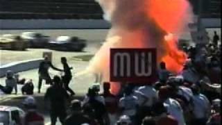 1994 BGN Advance Auto Parts 500 at Martinsville Part 3 of 9 (Michael Ritch Pit Fire)