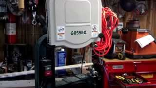 Grizzly G0555x Bandsaw 6 In Extension.