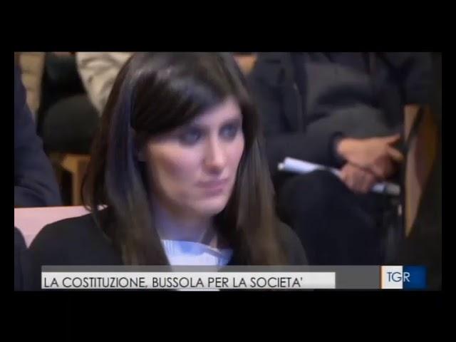 INCONTRO CON FLICK  A PALAZZO CARIGNANO, SERVIZIO DEL TGR PIEMONTE