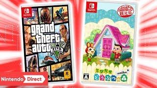 GTA 5 und Animal Crossing für Nintendo Switch (Gerücht)