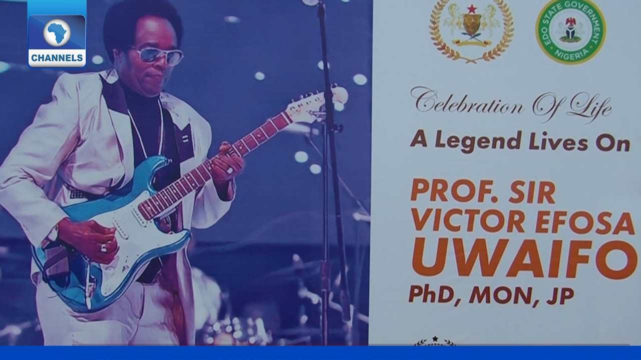 Download Victor Uwaifo Laid To Rest In Benin City