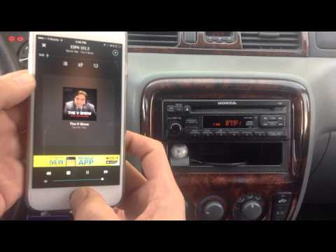 iPhone 6 Car Adapter - Add Streaming Music w/o BLUETOOTH