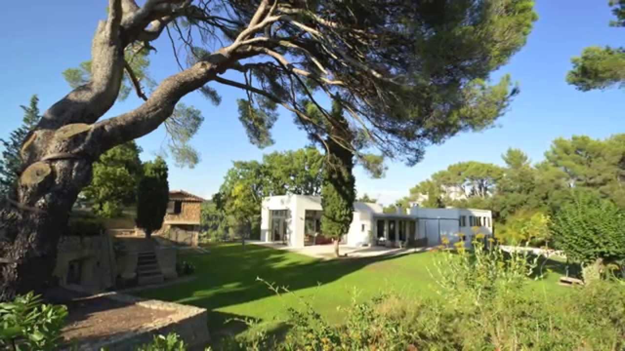 A vendre maison contemporaine sur les hauteurs de aix en provence 250 m2 youtube