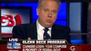 Glenn Beck: Cars.gov allows government to takeover your computer thumbnail