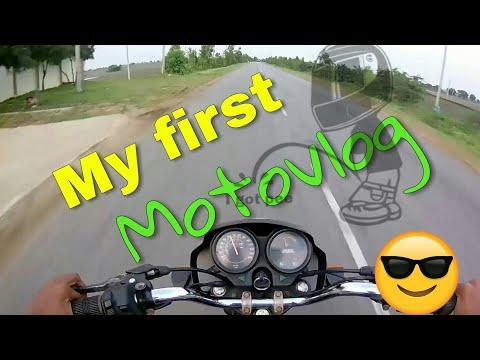 My first motovloging , Karnataka gadag | intro