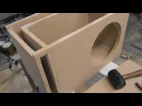How To Build A Sub Box >> Beginner Alpine Type R Custom Box Build Youtube