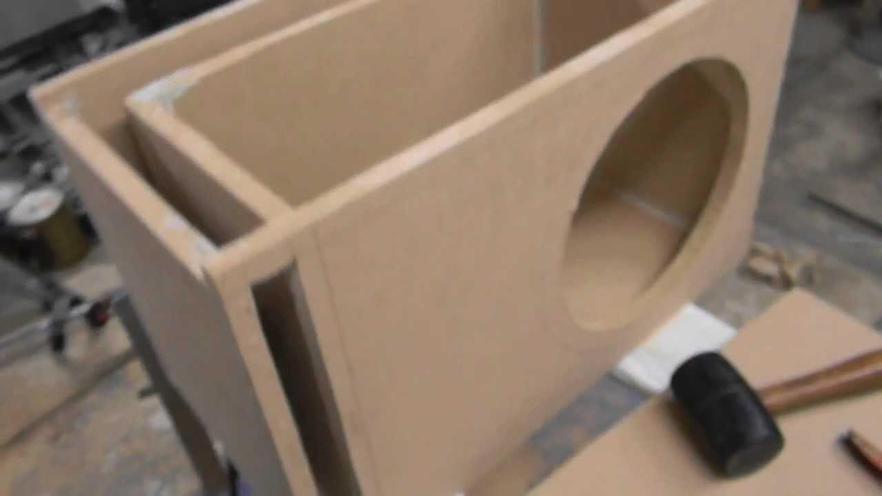 How To Build A Sub Box >> Beginner Alpine Type R Custom Box Build