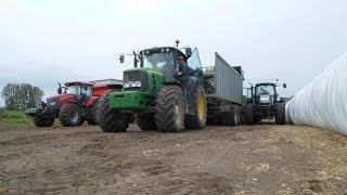 Produkcja Paszy w IUNGU Werbkowice 10 Ciągników 2 Sieczkarnie AGRO TEAM /Mafia Lubelskie