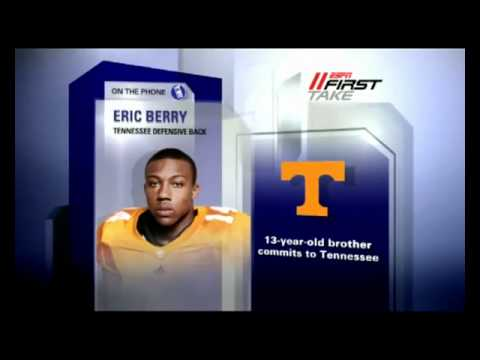 Eric Berry Interview ESPN First Take