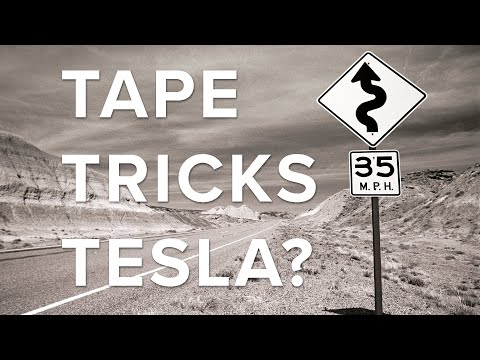 Ride News Now: Can a Bit of Tape Trick a Tesla into Speeding?