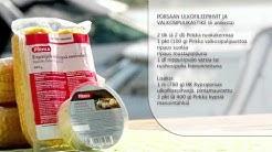 Porsaan ulkofileepihvit ja valkosipulikastike, mansikka-nektariinijälkiruoka