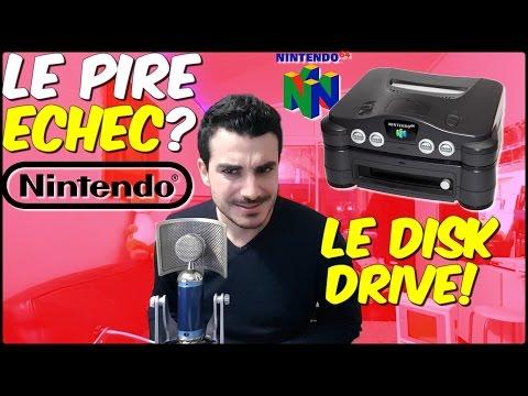 Conkerax - Le PIRE ECHEC de Nintendo ? -  Nintendo 64 DD Disk Drive !