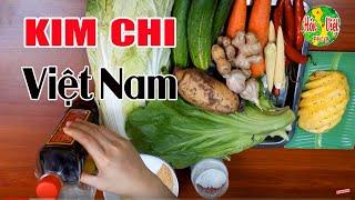 Làm Kim Chi Kiểu Việt Ngon Nhất | Hofn Việt Food
