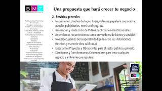 BMC Empresas - Servicios Generales, Publicidad y Marketing