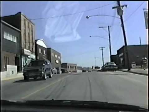 A drive in 1990: Kirkland Lake Ontario : Government Road