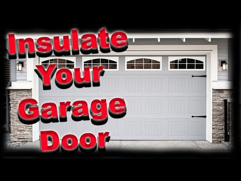 Garage Door Insulation Diy Radiant Barrier Doovi