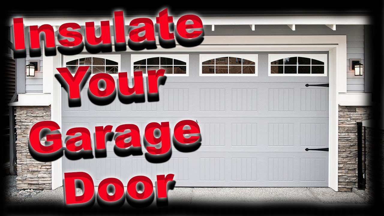 How to insulate a garage door the inexpensive way youtube how to insulate a garage door the inexpensive way solutioingenieria