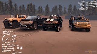 شرح   تحميل لعبة SpinTires مع السيارات