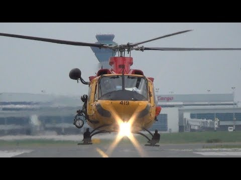 Search and Rescue (SAR) Demo. Helicopter Rescue. Toronto Harbourfront